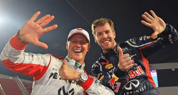 Ferrari'ye Vettel önerisini ilk Schumi vermiş