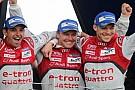 Audi sezona galibiyetle başladı
