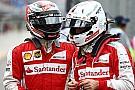 Vettel ve Raikkonen: Üçüncü olabilirdik