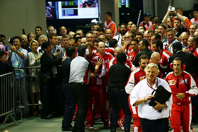 Аррівабене вибачиться за поведінку співробітників Ferrari