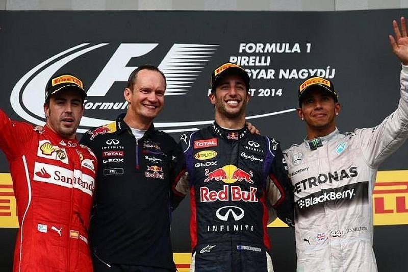 Гран При Венгрии: гонка