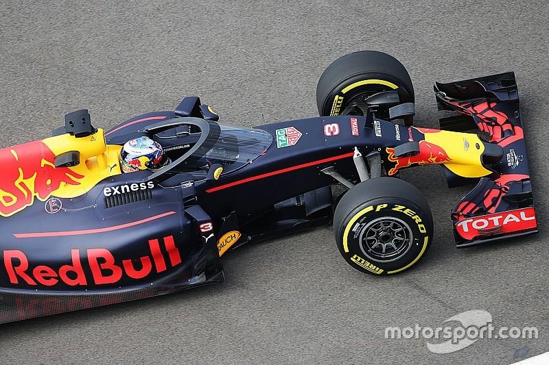 Ricciardo promuove la visibilità del parabrezza Red Bull