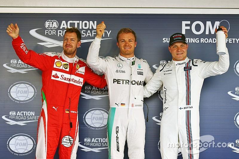 Com novo problema de Hamilton, Rosberg é pole em Sochi