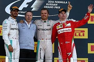 Fórmula 1 Relato da corrida Rosberg domina na Rússia e iguala recorde de Schumacher