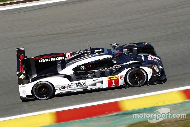 Spa WEC: Porsche geeft gas in laatste vrije training