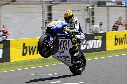 Die besten Wheelies von Valentino Rossi