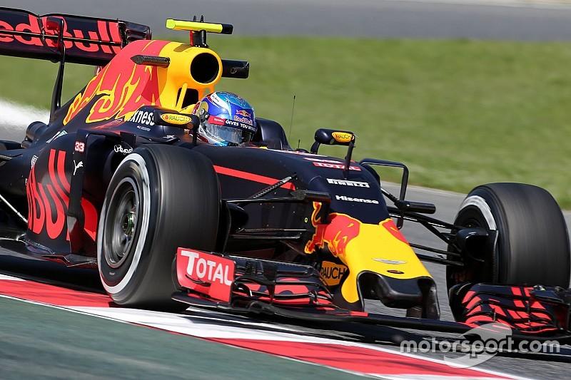 Verstappen dice que aún se está acostumbrando al RB12