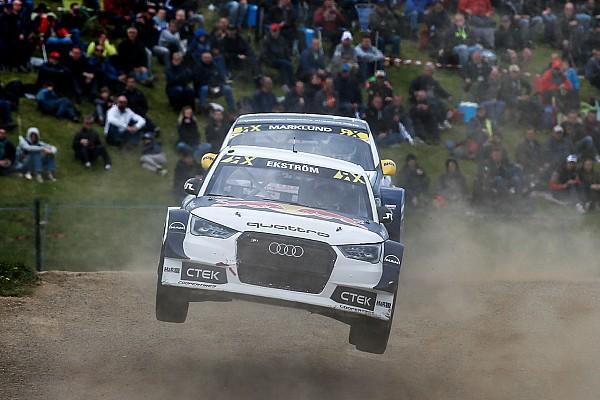 Rallycross-WM Rallycross-WM Belgien: Sieg für Ekström, Podestplatz für Loeb