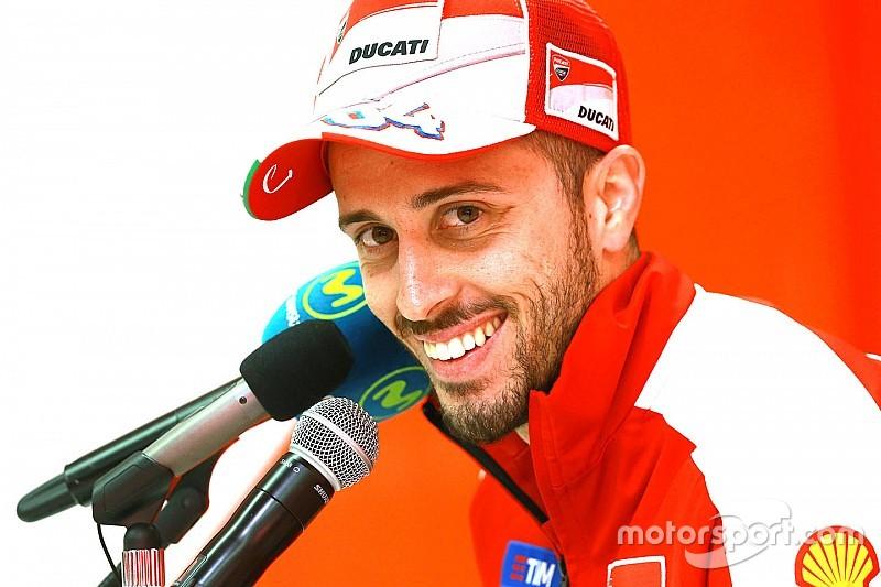 """Dovizioso: """"Me estimula poder batir a Lorenzo con la misma moto"""""""