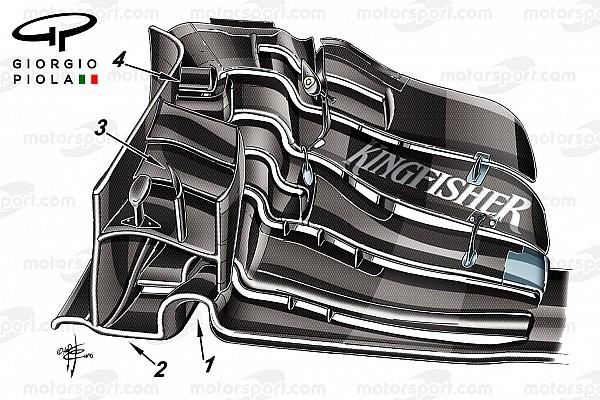 Analisi tecnica: la rinascita della Force India parte dall'ala anteriore