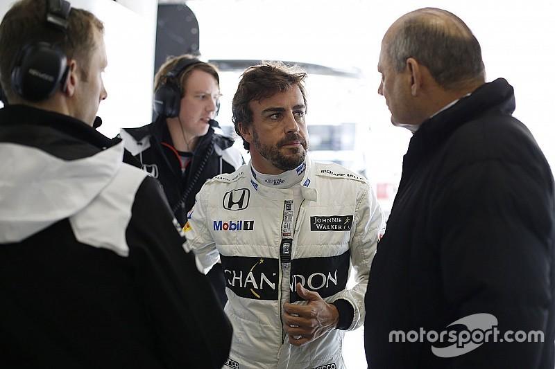 Alonso sigue siendo el mejor, dice Ron Dennis