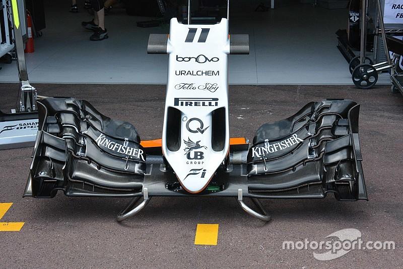 Force India: a Monaco sulla VJM09 si usa la stessa ala di Barcellona