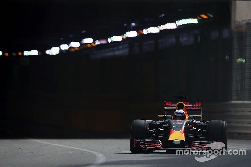 モナコGPフリー走行2回目:新PU効果か? レッドブルのリカルドが最速