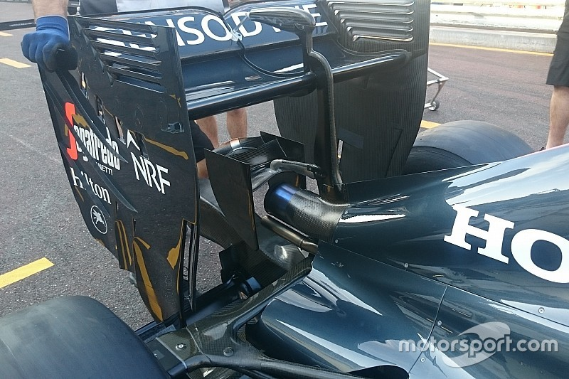 """Технический брифинг: """"сиденье для обезьянки"""" McLaren MP4-31"""
