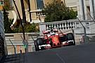 Vettel snelste in laatste training Monaco, Verstappen schampt vangrail