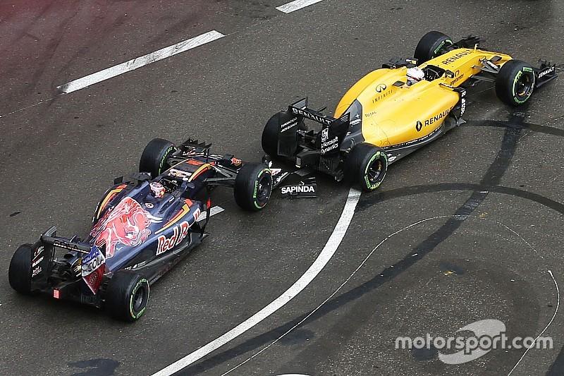Kvyat culpa a Magnussen del accidente en Mónaco