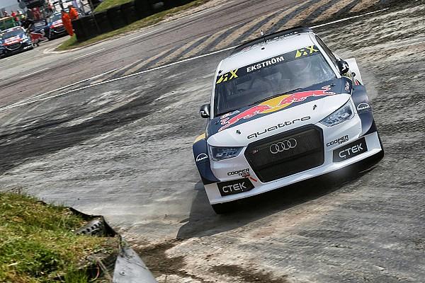 Rallycross-WM WRX in Lydden Hill: Dritter Sieg in Folge von Mattias Ekström
