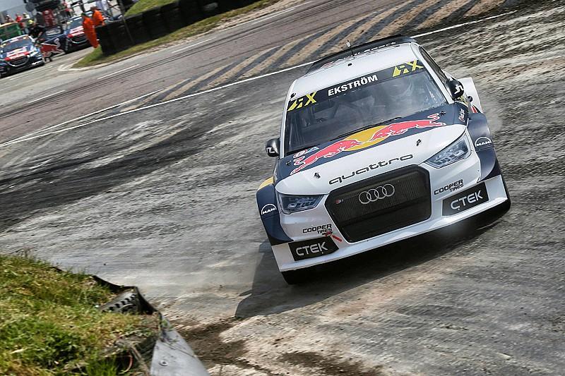 WRX in Lydden Hill: Dritter Sieg in Folge von Mattias Ekström