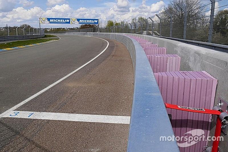 Le barriere SAFER debuttano in Europa alla 24 Ore di Le Mans