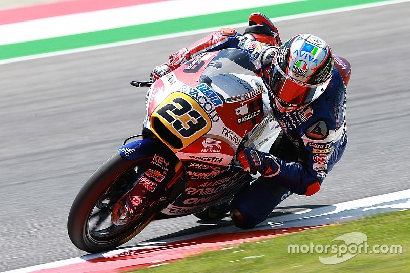 Moto3 Barcelona: Antonelli snelst in beide trainingen