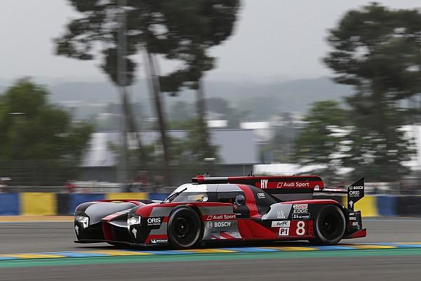 Audi завершує вкорочений тестовий день лідером підсумкового протоколу