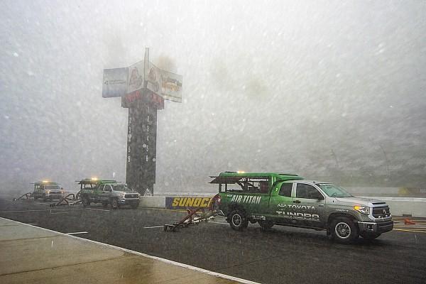 Monster Energy NASCAR Cup Hava durumu, NASCAR Pocono yarışının ertelenmesine neden oldu