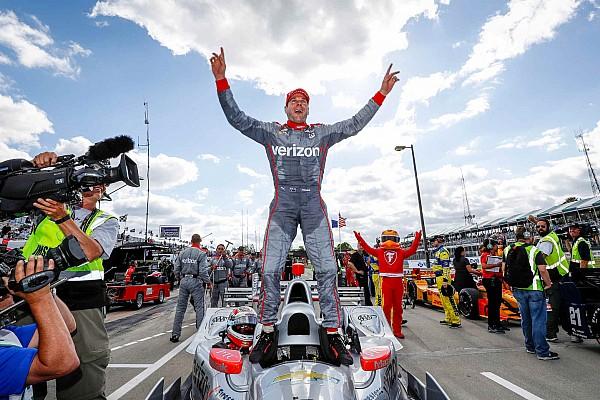 Power klopt Pagenaud in tweede race Detroit