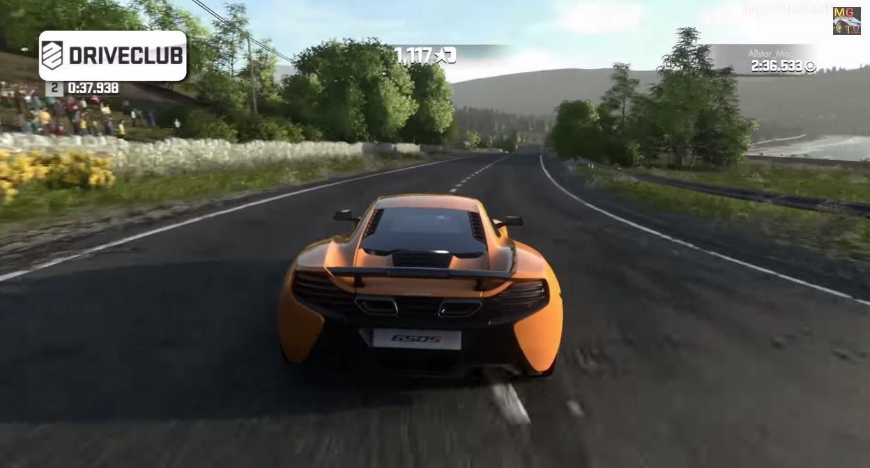 DriveClub Vs. Forza Horizon: McLaren 650S Coupe a játékban