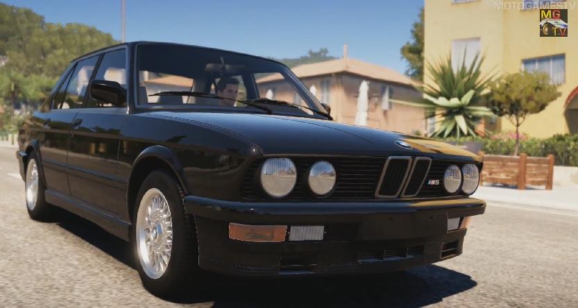 Forza Horizon 2: Az egyik legmenőbb verda a játékban – 1988 BMW M5