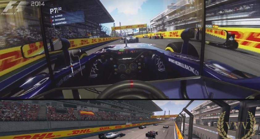F1 2014: Virtuálisan már versenyzett a Forma-1 mezőnye Oroszországban