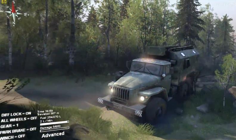 Egy egészen élethű autós játék, nagyszerű grafikával és hangulattal: Spintires