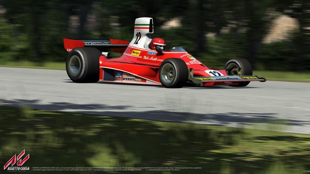 Assetto Corsa: Száguldás Lauda legendás Ferrarijával Monzában