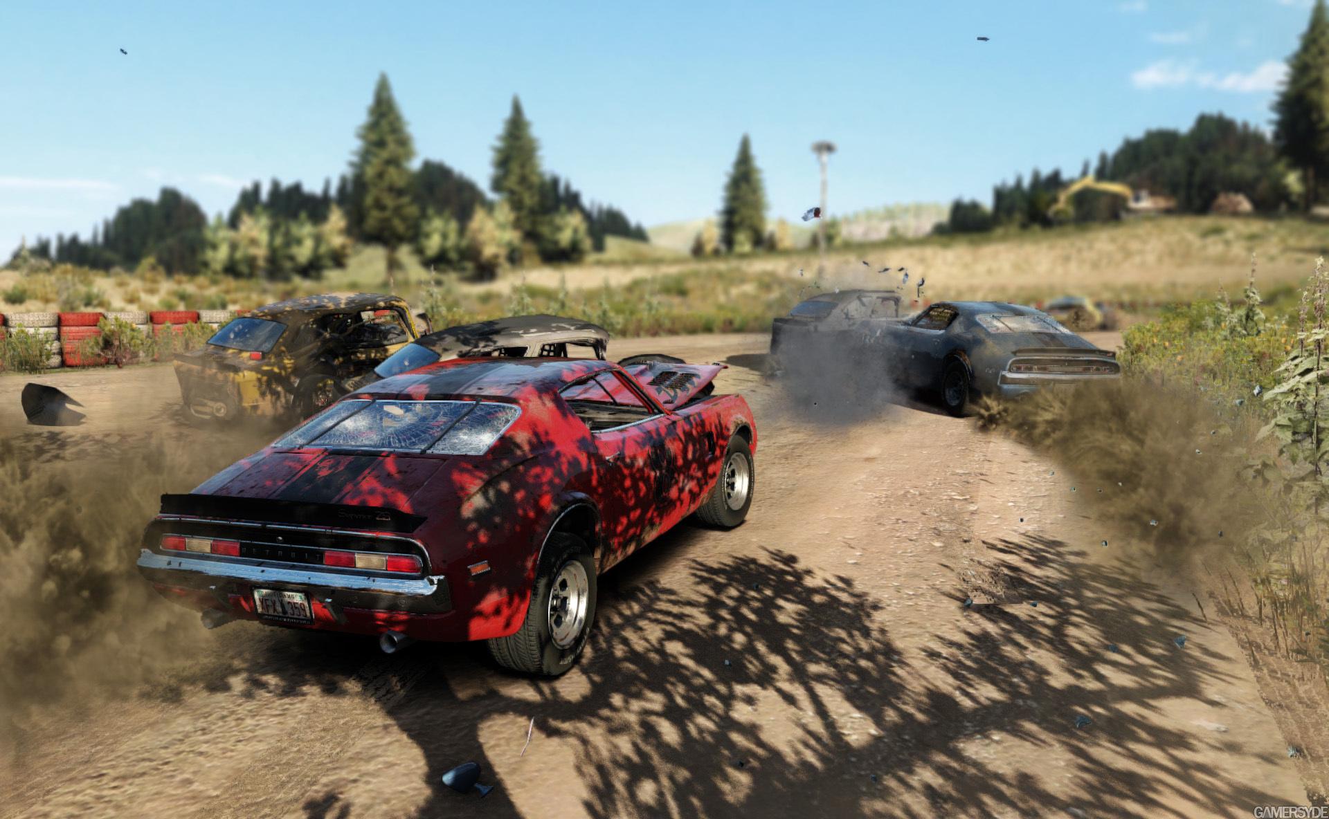 Next Car Game: Egy új videó a roncs derbis játékról