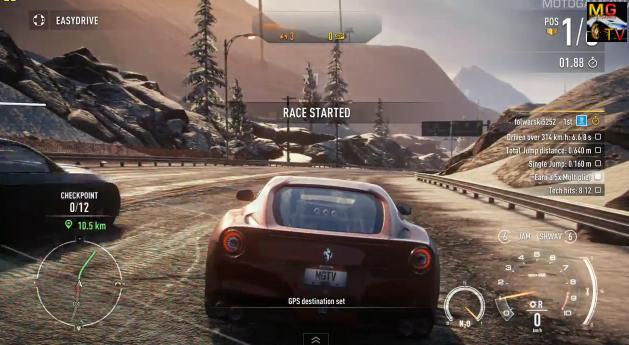 Need for Speed: Rivals – féktelen száguldás egy Ferrarival