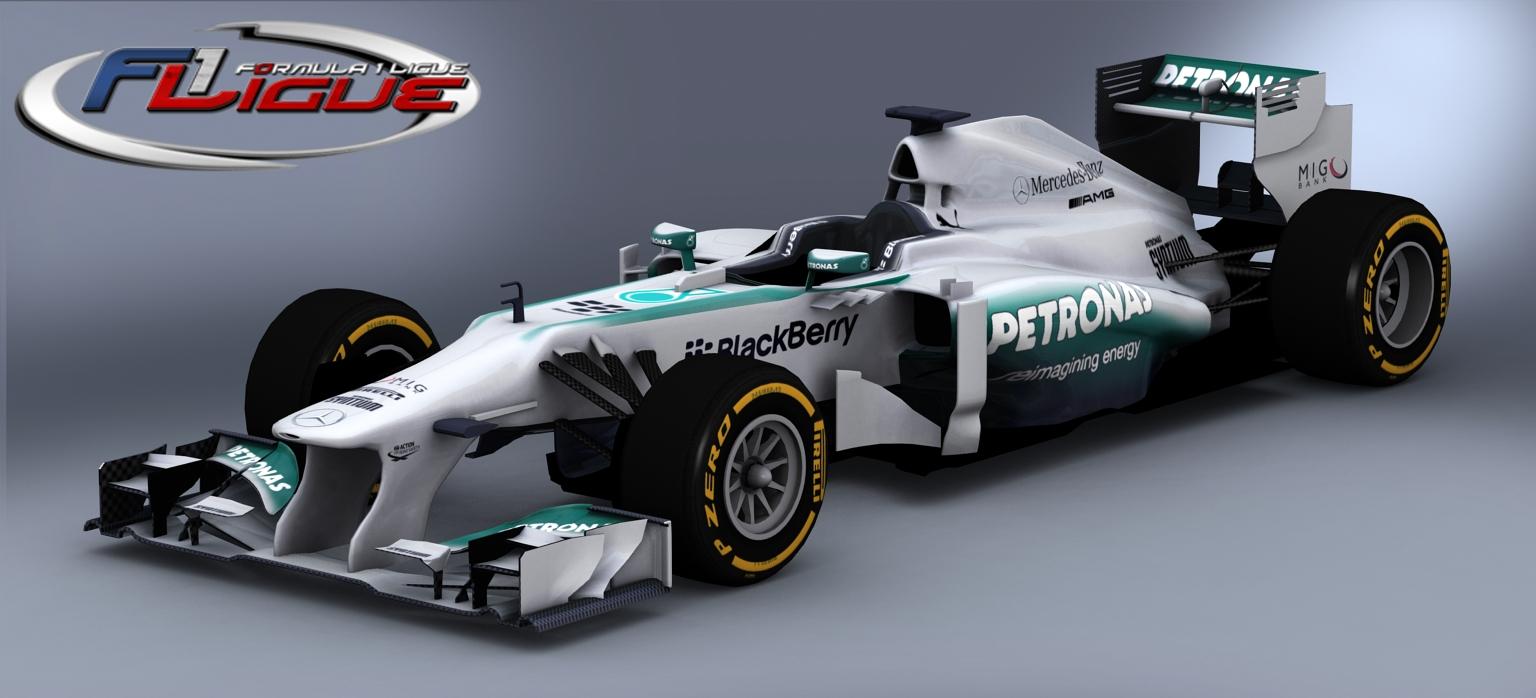 F1 2013 – rFactor 2: Képeken az új Mercedes és a Red Bull