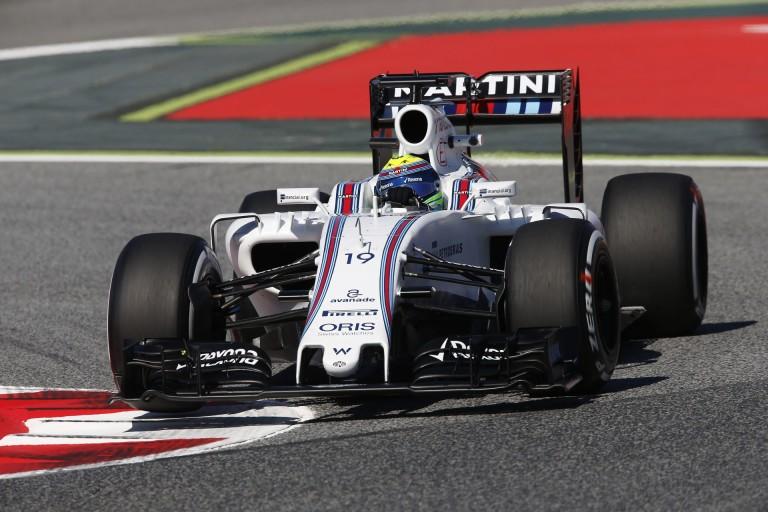 Massa szerint Barcelonában a Williams messze jár a Red Bulltól!