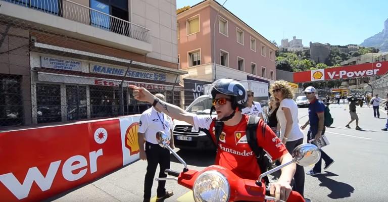 Hatalmas: amikor Kimivel közlik, hogy csak F1-es versenyzők mehetnek be