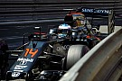 A McLaren továbbra sem boldogul a magas guminyomással