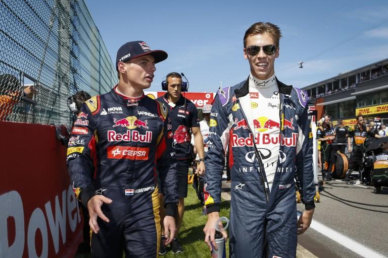Kvyat nem fél Verstappentől: Melbourne-ben a holland sem ment jól...