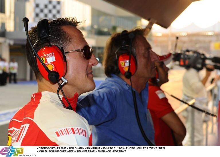 """Montezemolo: """"Schumacher egy harcos, és hiszek a felépülésében"""""""