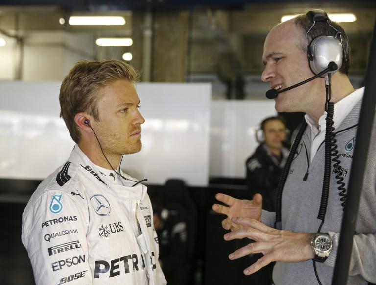 Rosberg fél a Ferrariktól, különösen Kimitől! Meg talán a Red Bulltól is tart egy kicsit...