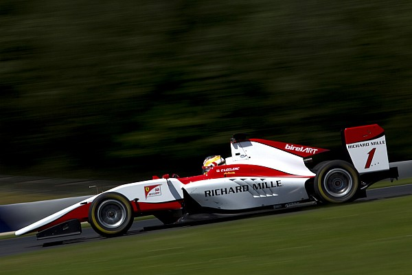 Charles Leclerc concede il bis nei test GP3 al Red Bull Ring