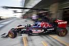 Az új Toro Rosso már most majdnem 1 másodperccel gyorsabb, mint a tavalyi gép