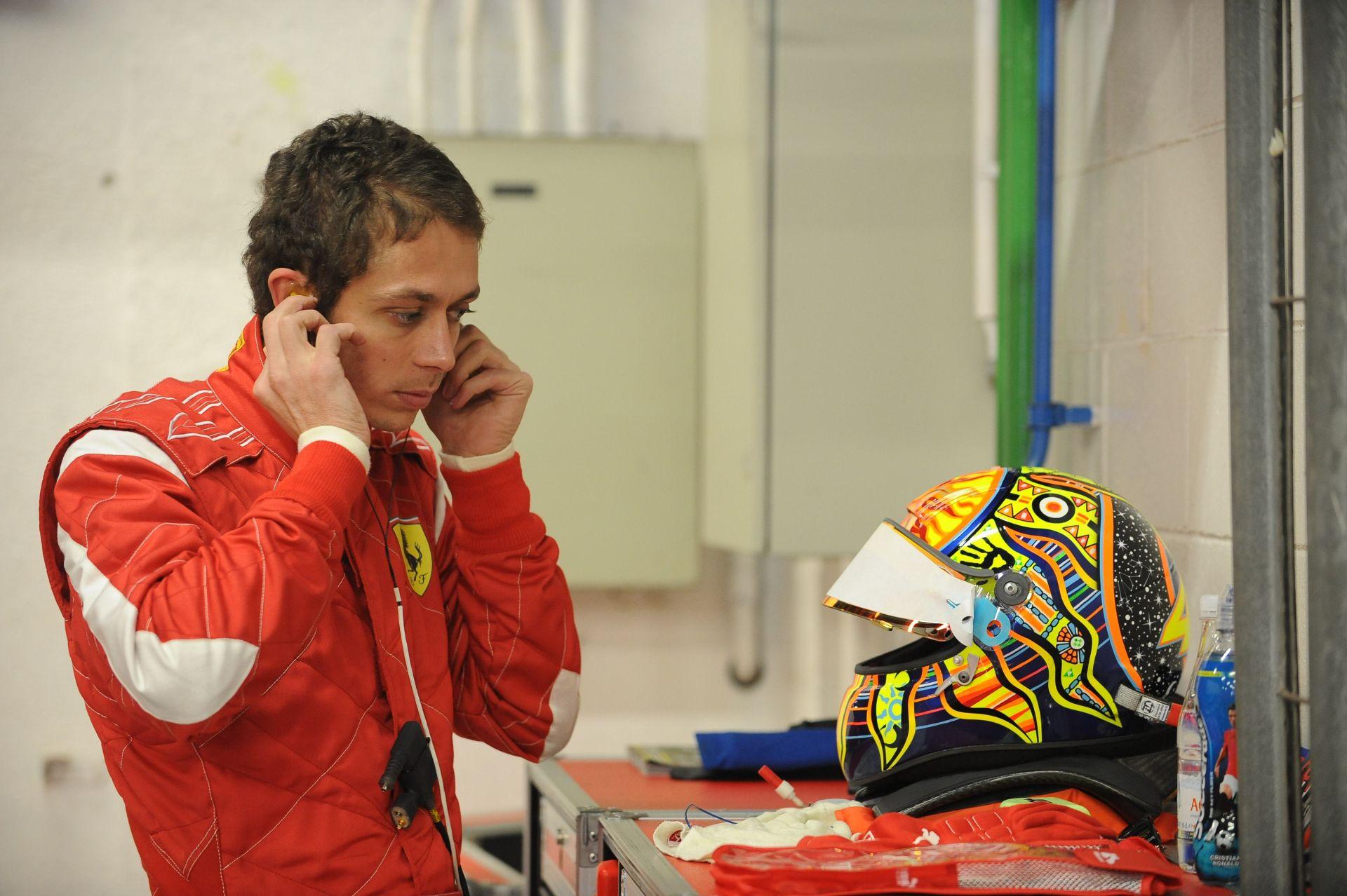 Az olaszok álompárosa: Valentino Rossi & Ferrari