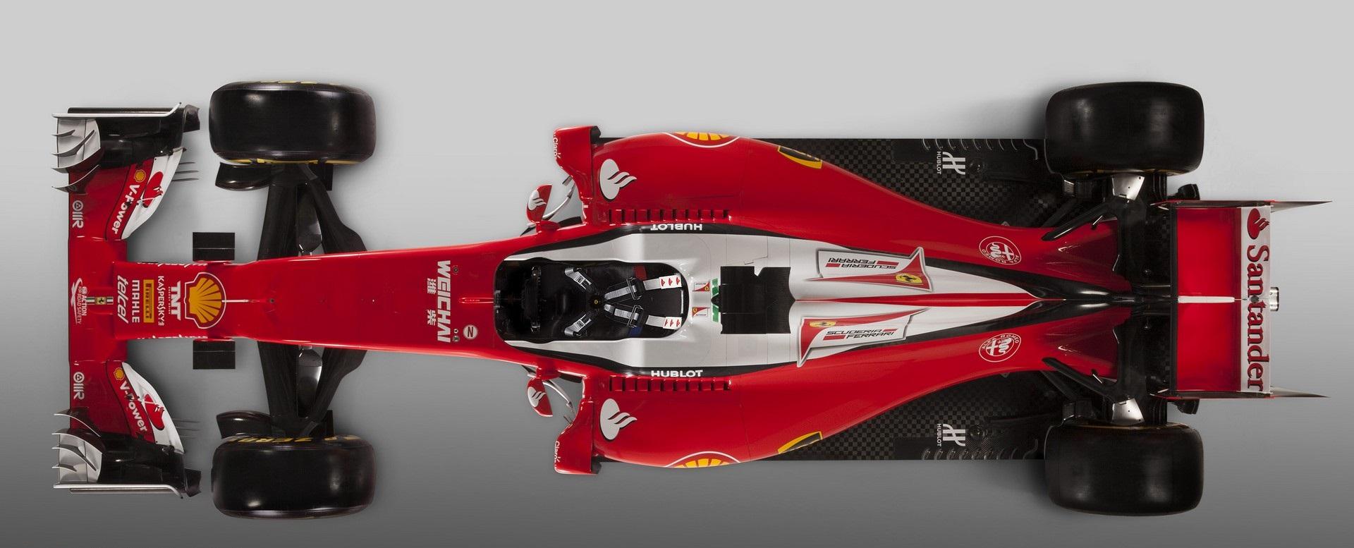 Hivatalosan is bemutatkozott a 2016-os F1-es Ferrari: új festés, új aerodinamika…