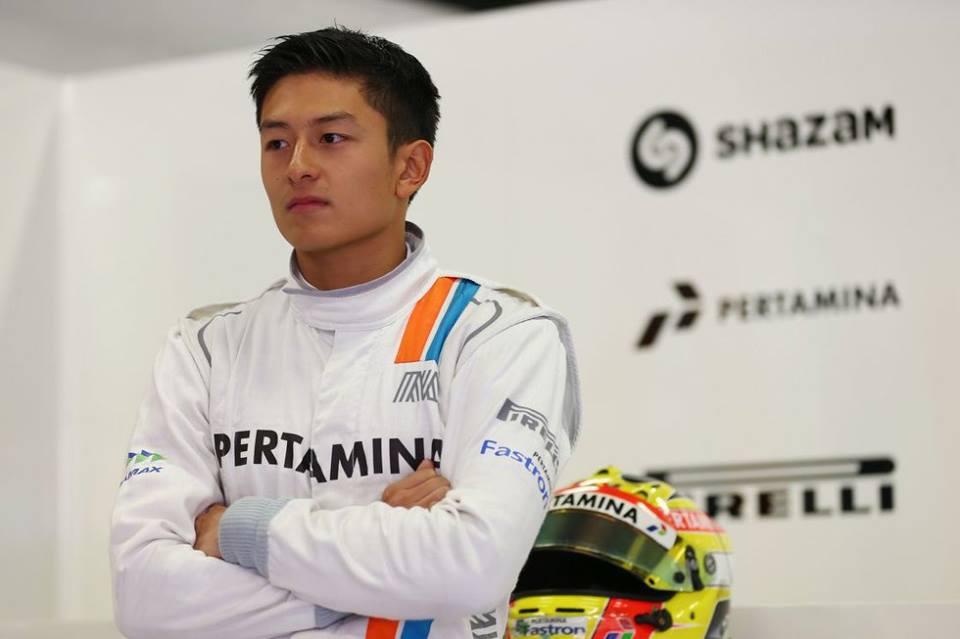 Pasta aglio olio és Justin Bieber: szokja az F1-et a Manor indonéz újonca