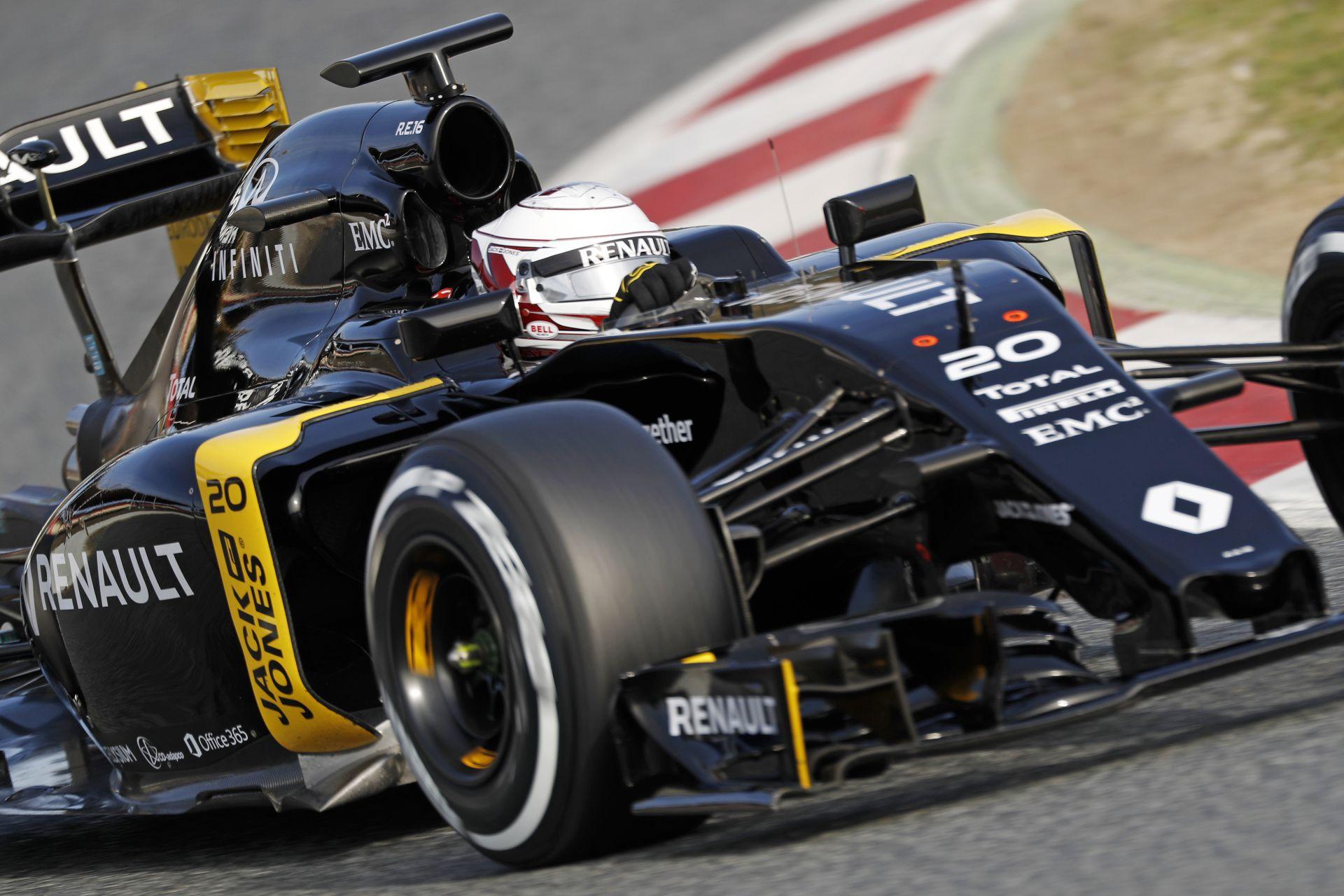 """Magnussen együtt """"lélegzik"""" az új Renault-val!"""