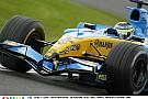 Amikor még szárnyalt a Renault a Forma-1-ben: Fisichella tolja neki