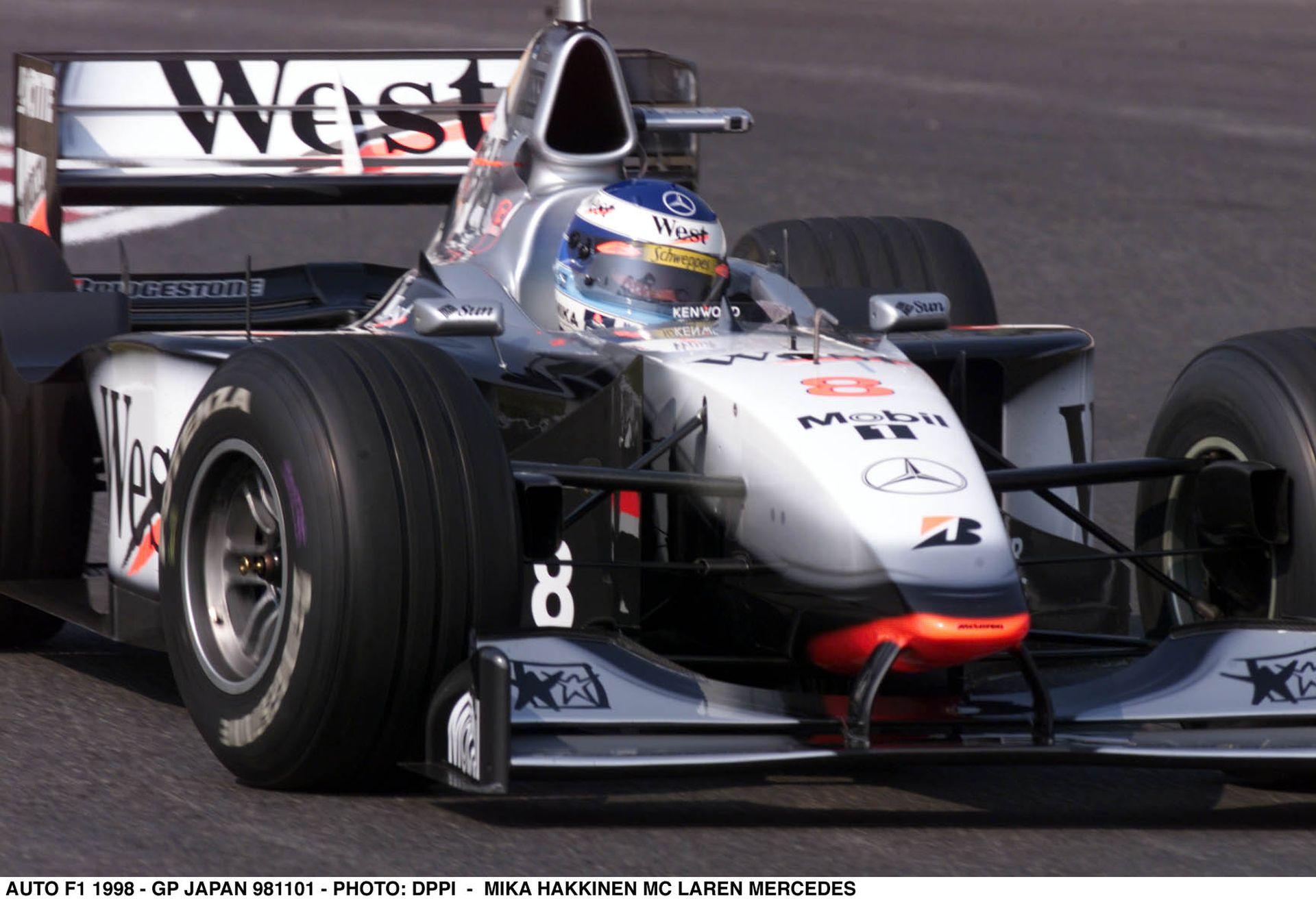 Mika Hakkinen 1998-ban éppen ezen a napon lett először világbajnok a Forma-1-ben