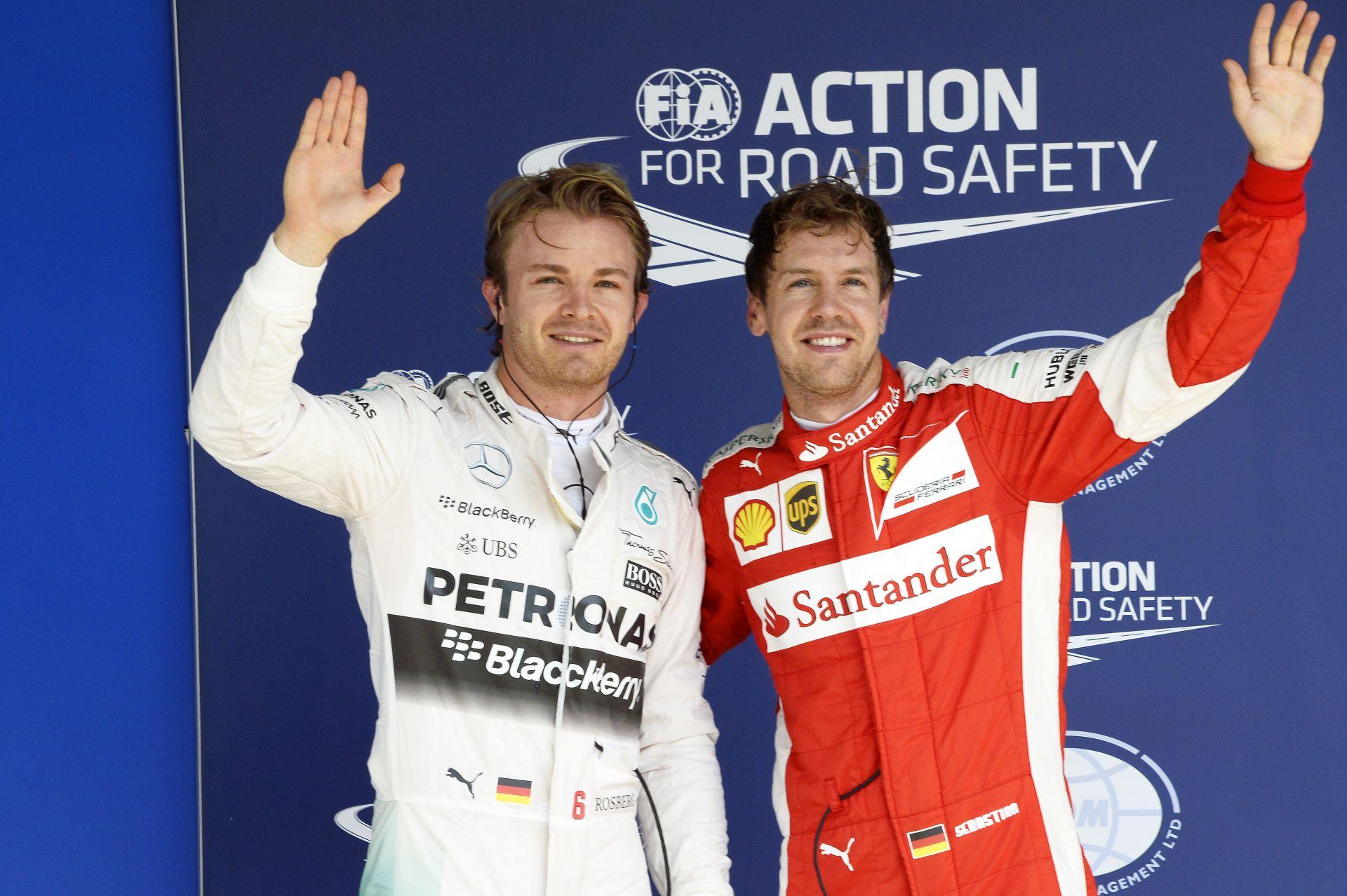 Rosberg nem tudja, hogy mitől szárnyal ennyire, de örül, hogy ismét bedarálta Hamiltont